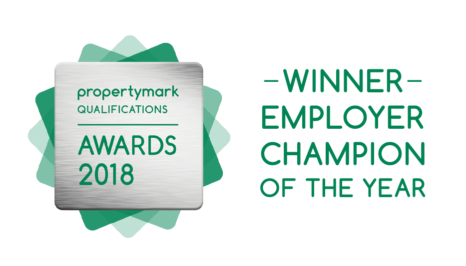 Winner badge - Employer Champion