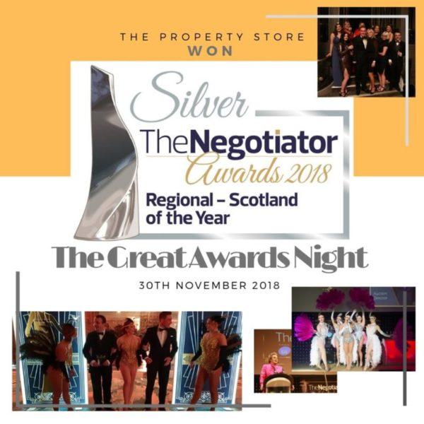 SILVER WINNER @ THE NEGOTIATOR AWARDS